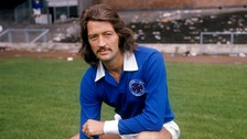 Frank Worthington won eight caps for England