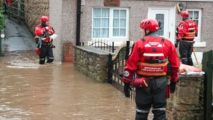 Fire crews check on Morpeth residents
