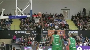 Newcastle Eagles on course for basketball's Grand Slam