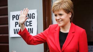Nicola Sturgeon's Glasgow Southside seat went to the vote on Thursday