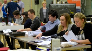 Counts are taking place across the UK.