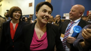 Ruth Davidson has won the Edinburgh Central constituency.