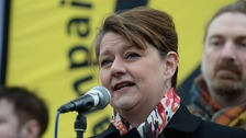 Leanne Wood took the Rhondda seat from Labour after a 13-year hold