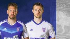 Ipswich Town's new kit