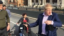 Boris bows out as London mayor with a final public duty