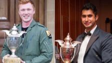 Flying Officer Cameron James Forster and Flying Officer Ajvir Singh Sandhu