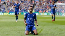 Mahrez 'wants to stay' at champions Leicester