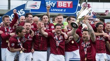 Your guide to Northampton Town's promotion parade route