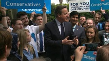'Local elections are meant to be a day of dread' - Cameron reflects on Peterborough win