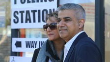 Sadiq Khan on course to break the Conservatives' eight-year hold on the London mayoralty