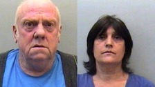 'Nothing of significance' found in garden of two convicted paedophiles