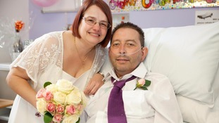 Man marries love of his life just days before dying
