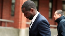 Former Sunderland footballer Cabral, real name Adilson Tavares Varela, arrives at Hull Crown Court