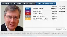Roger Hirst takes over as Essex PCC.