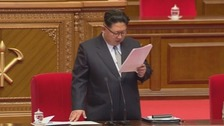 Kim Jong Un praises nuclear tests during Congress