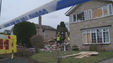 Haxby house explosion.