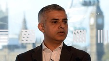 Sadiq Khan 'on course to become London mayor'