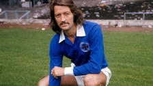 Frank Worthington's daughter claimed on Thursday he was suffering from Alzheimer's