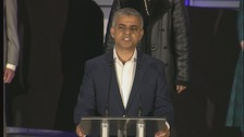 Labour's Sadiq Khan elected London mayor