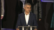 "Sadiq Khan promised to be a mayor for ""all Londoners"""