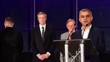 Labour's Sadiq Khan elected London mayor