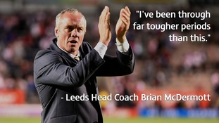 Brian McDermott remains calm despite latest Leeds loss