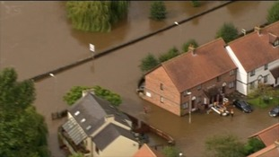 People are rescued in Boroughbridge