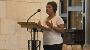 Doreen Lawrence at Southwark Cathedral