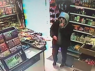 CCTV image of a man police want to speak to after an attempted robbery in Chester-le-Street