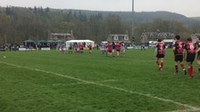 The penultimate round of the Kings of the Sevens is underway at Selkirk this afternoon.