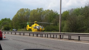 Photo of air ambulance