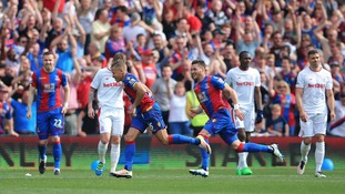 Premier League match report: Crystal Palace 2-1 Stoke