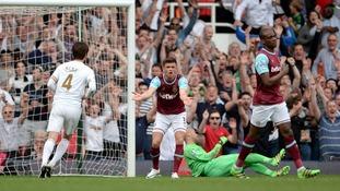 Premier League match report: West Ham 1-4 Swansea