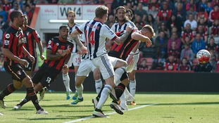 Premier League match report: Bournemouth 1-1 West Brom