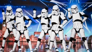 Britain's Got Talent: Dancing Stormtroopers convince Simon to press the golden buzzer