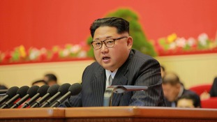 North Korea's Kim Jong Un says country will not use nuclear weapons unless threatened