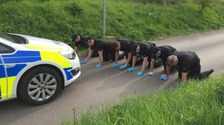 Police searches in Somerset