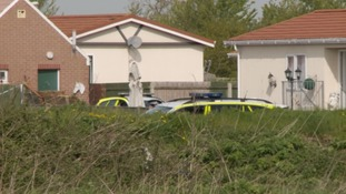 Two men charged with murder in Somerset caravan site shooting inquiry