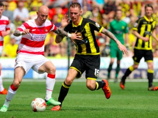 Burton are promoted after drawing 0-0 at Doncaster