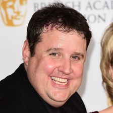 Peter Kay won two awards for 'Car Share' at the television BAFTAs in London.