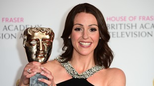 Suranne Jones won the award for leading actress for her role in drama series 'Doctor Foster'.