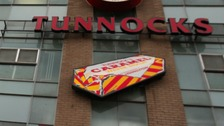 Michael's Tunnock's wafers were stolen.