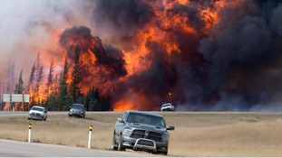 County Durham woman escapes death in the Canadian wildfire