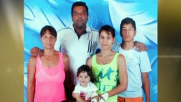 Ionela and her family.
