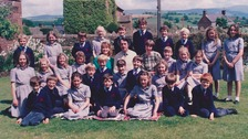 Are you one of the pupils in this photo?