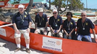 Workington Rotary Club have donated a fleet of fishing boats.