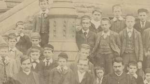 Pupils in the late 1890s