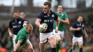 Stuart Hogg was named Six Nations Player of the Championship.