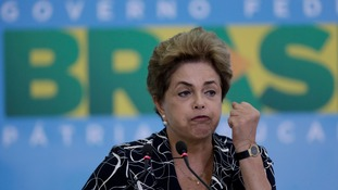 Brazil's congress last month voted overwhelmingly in favour of the impeachment process against President Dilma Rousseff.