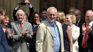 Corbyn's left-wing agenda has displeased a section of his party colleagues in Westminster but there appears no prospect of an imminent challenge to his leadership.